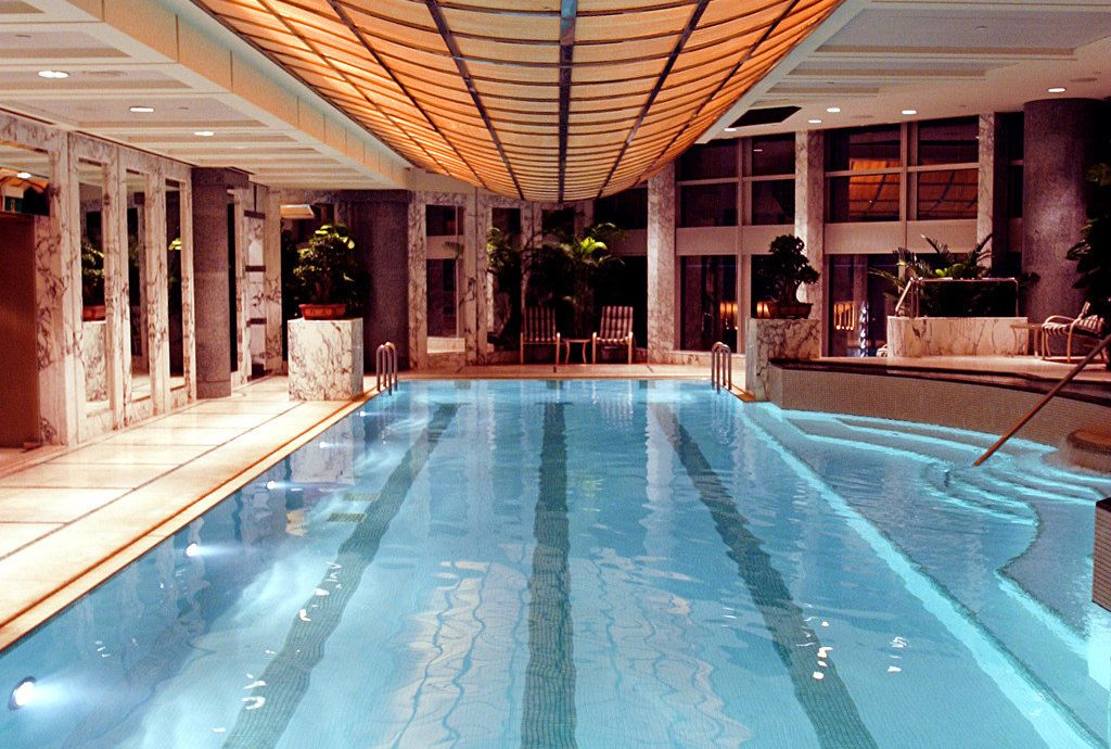 Fitness Lounge Pool Sport Wellness building leisure swimming pool platform structure station Architecture leisure centre Resort convention center empty