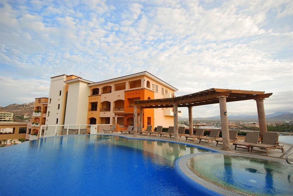 water property swimming pool Resort house Architecture condominium Villa home Harbor swimming Pool Sea mansion palace