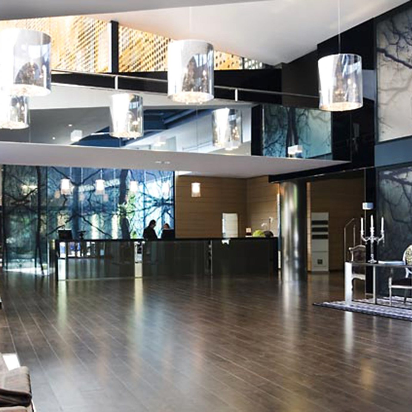 Hip Lobby Lounge Modern property Architecture home professional loft