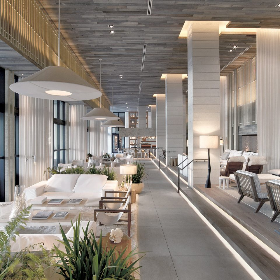 Hip Lounge Luxury Scenic views building Lobby property Architecture condominium home daylighting headquarters lighting professional living room colonnade