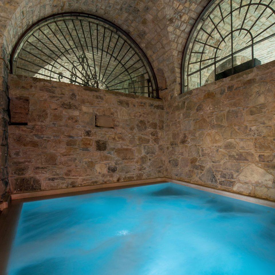 Architecture Historic Honeymoon Pool Romance Romantic Rustic Wellness swimming pool property stone arch