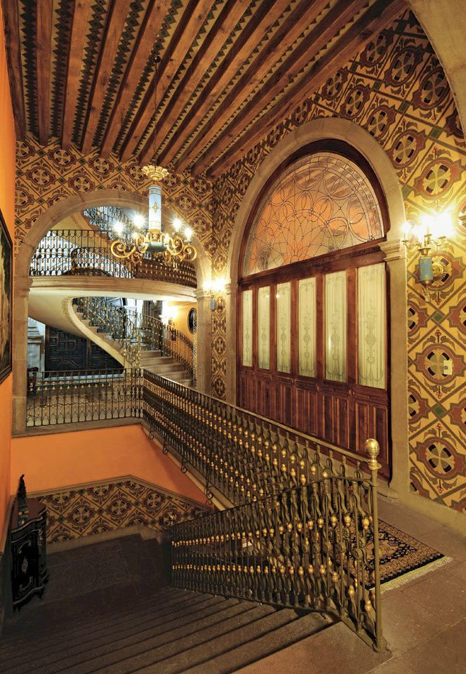 Historic Lounge Rustic building Lobby Architecture Winery palace wine cellar arch mansion stone