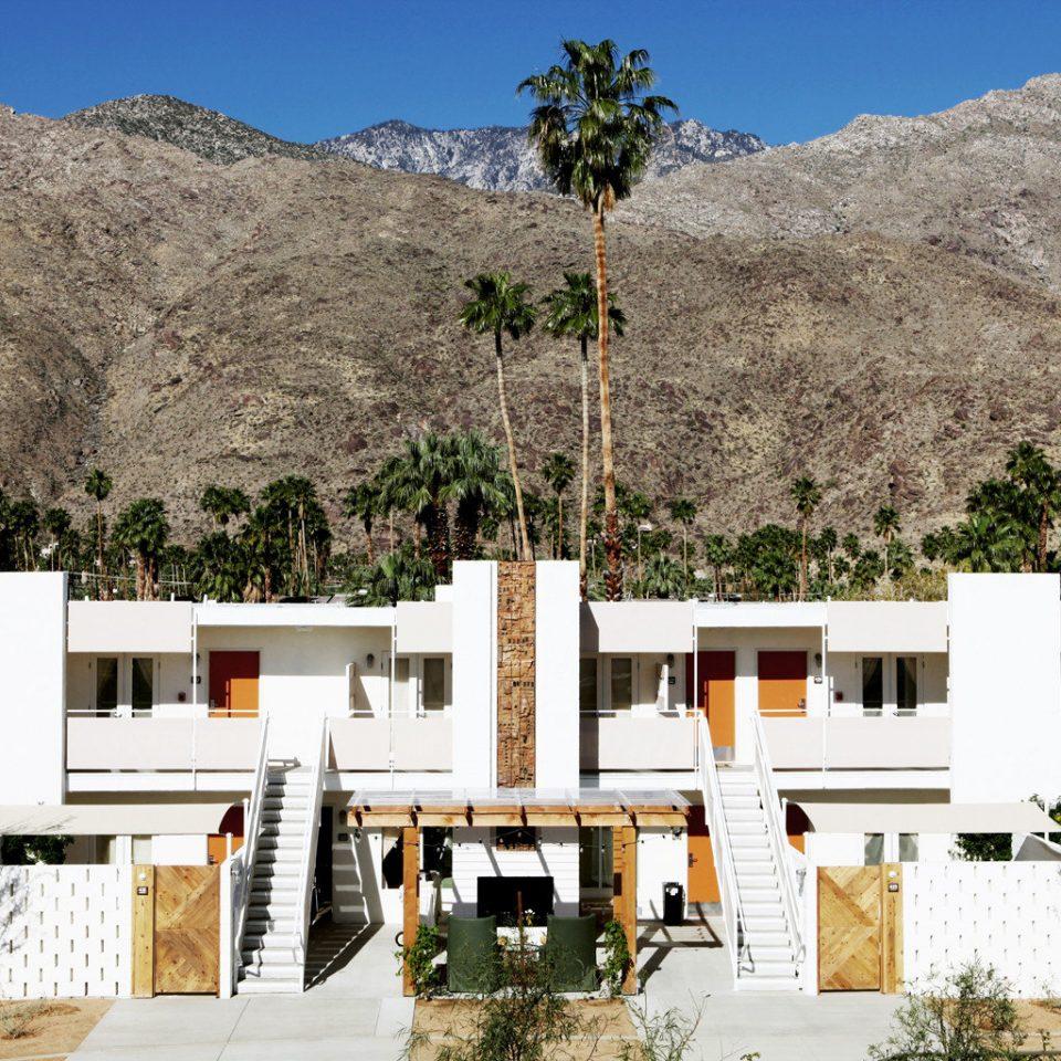 sky mountain house Architecture home landscape
