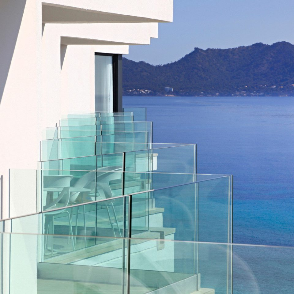 water sky Architecture overlooking Island