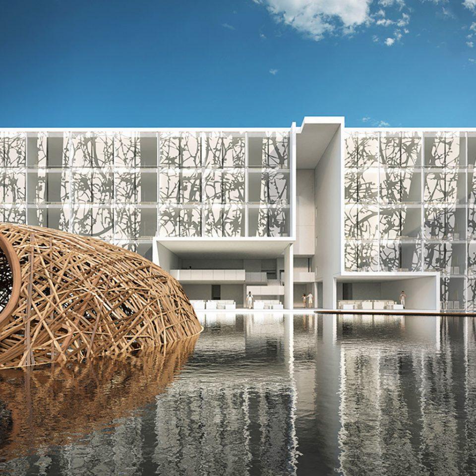 landmark water Architecture