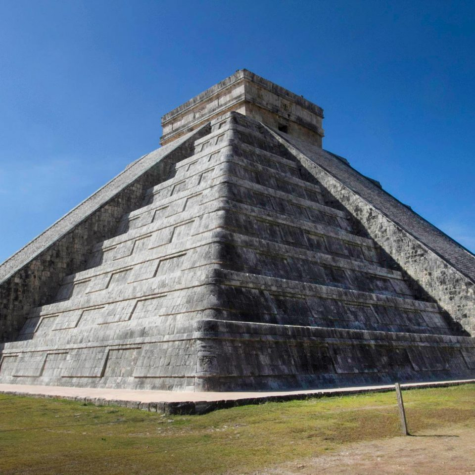 Architecture Landmarks Monuments Museums Natural wonders Outdoor Activities Ruins sky grass building stone landmark brick monument pyramid archaeological site maya civilization old ancient history roof structure concrete