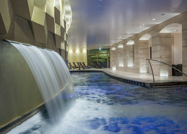 swimming pool light Architecture lighting thermae water feature