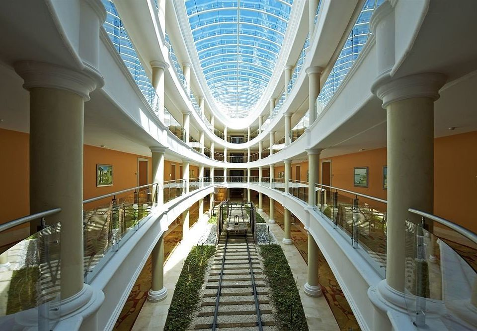 building Architecture shopping mall aisle Lobby convention center retail