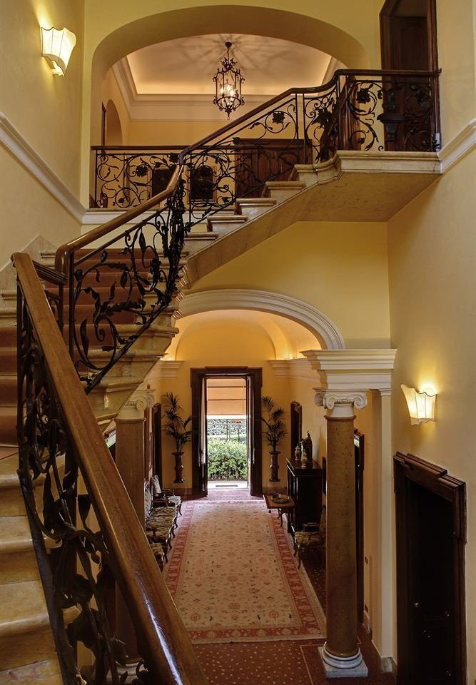stairs property house Lobby home Architecture mansion hall arch living room handrail baluster