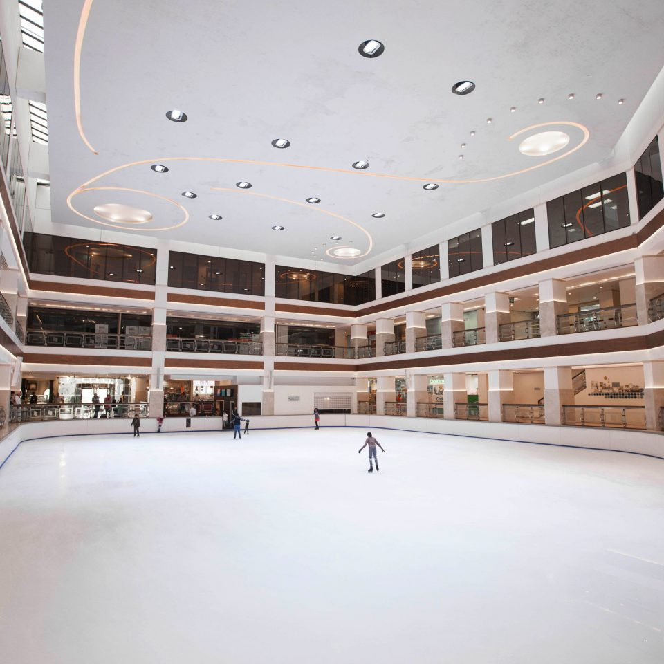 building Architecture leisure centre shopping mall daylighting headquarters Lobby auditorium convention center ice rink arena court