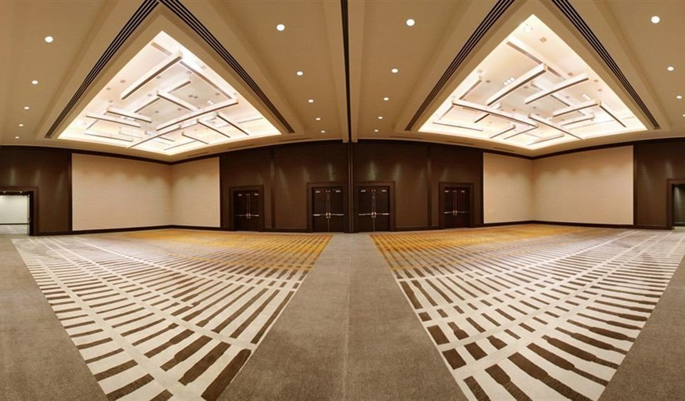 building auditorium Architecture Lobby conference hall function hall convention center ballroom hall symmetry mansion empty