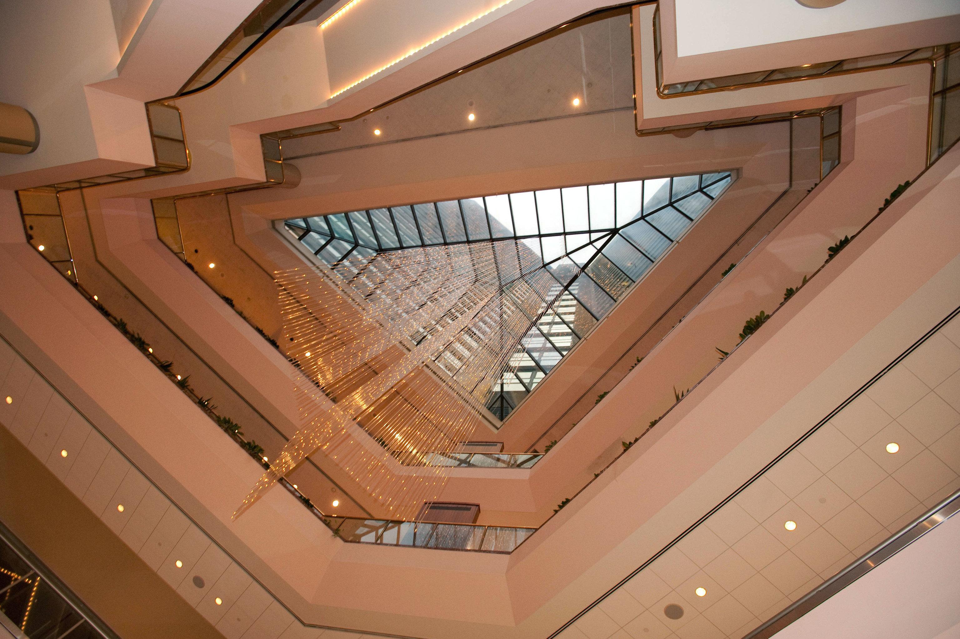 stairs Architecture daylighting auditorium Lobby technology step