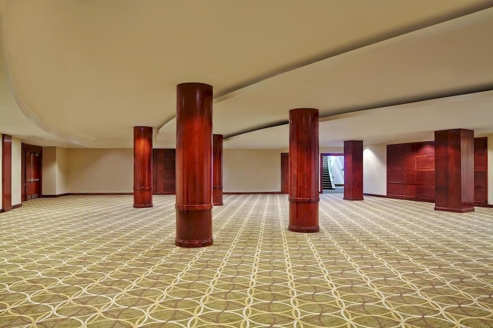 Lobby property Architecture auditorium flooring hacienda hall mansion tiled