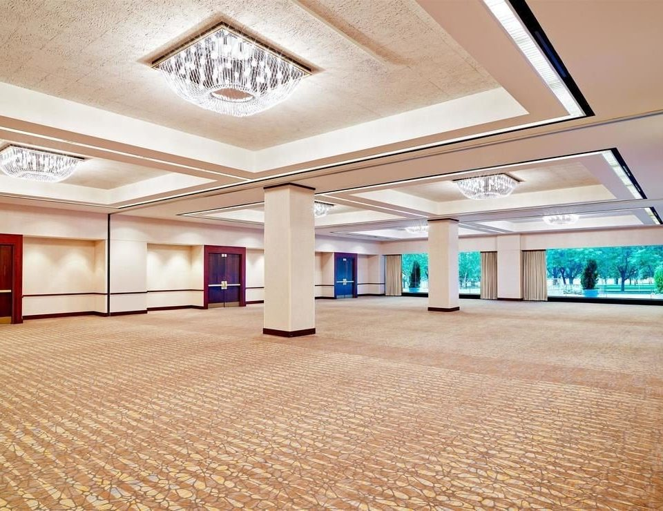 Lobby property Architecture daylighting hall convention center flooring headquarters ballroom flat