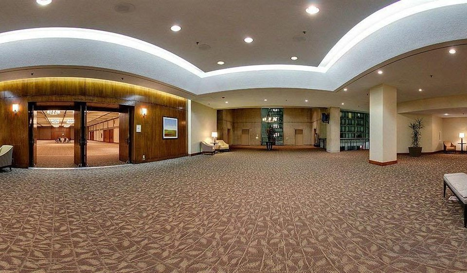 Lobby property Architecture function hall mansion ballroom convention center flooring hall empty