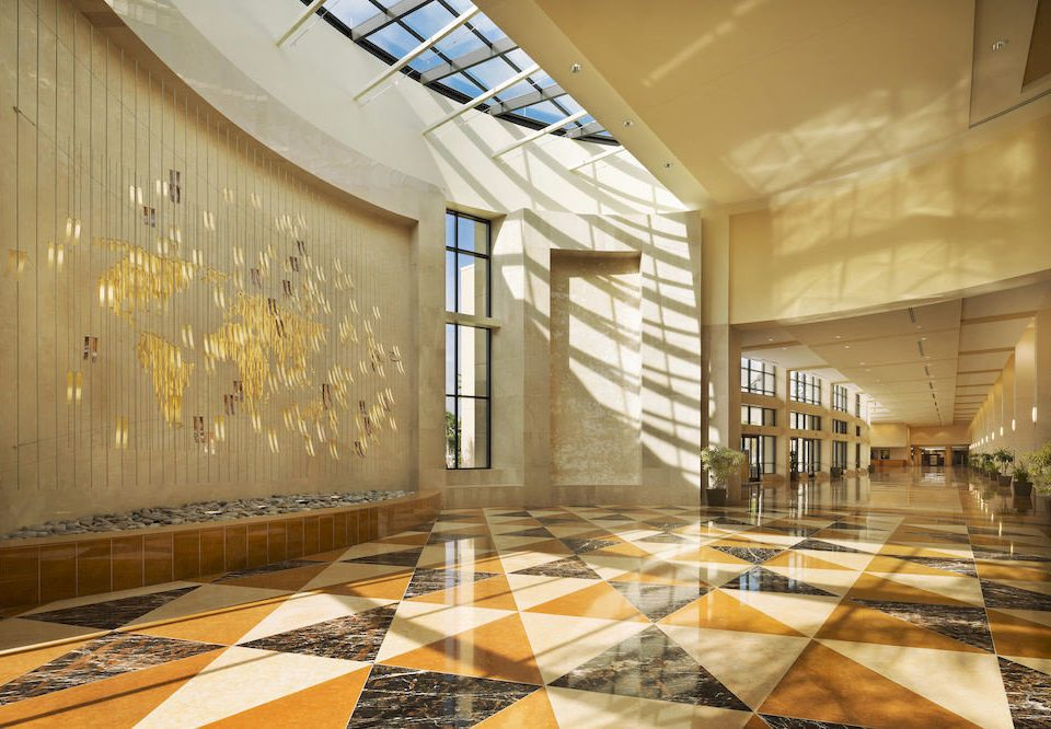 Lobby Architecture flooring daylighting hall headquarters ballroom tourist attraction