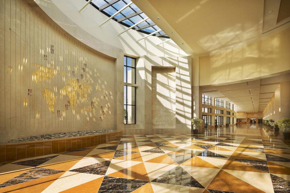 Lobby Architecture flooring daylighting hall headquarters ballroom tourist attraction
