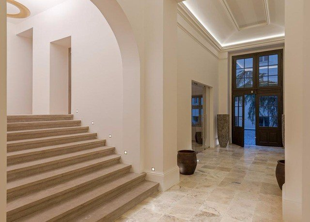 building stairs property Architecture hardwood Lobby home flooring daylighting hall baluster wood flooring mansion