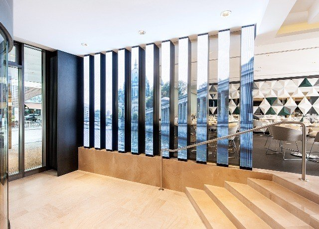property Architecture Lobby daylighting home baluster professional hall headquarters