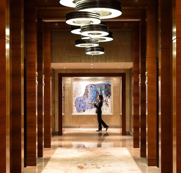 building Lobby Architecture hall lighting column tourist attraction door colonnade