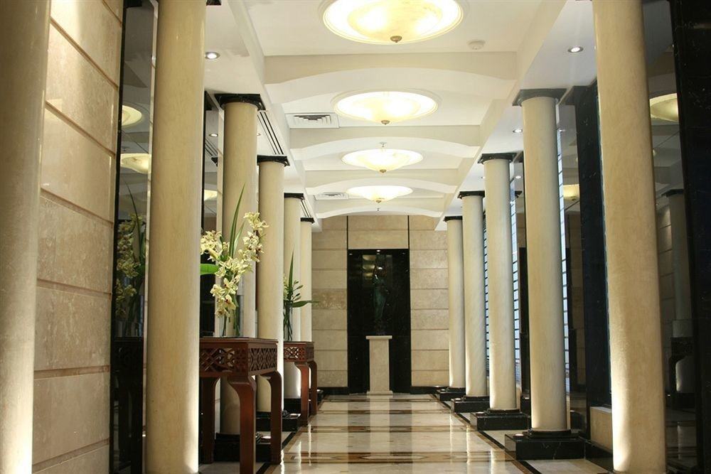 building Lobby Architecture hall lighting headquarters colonnade