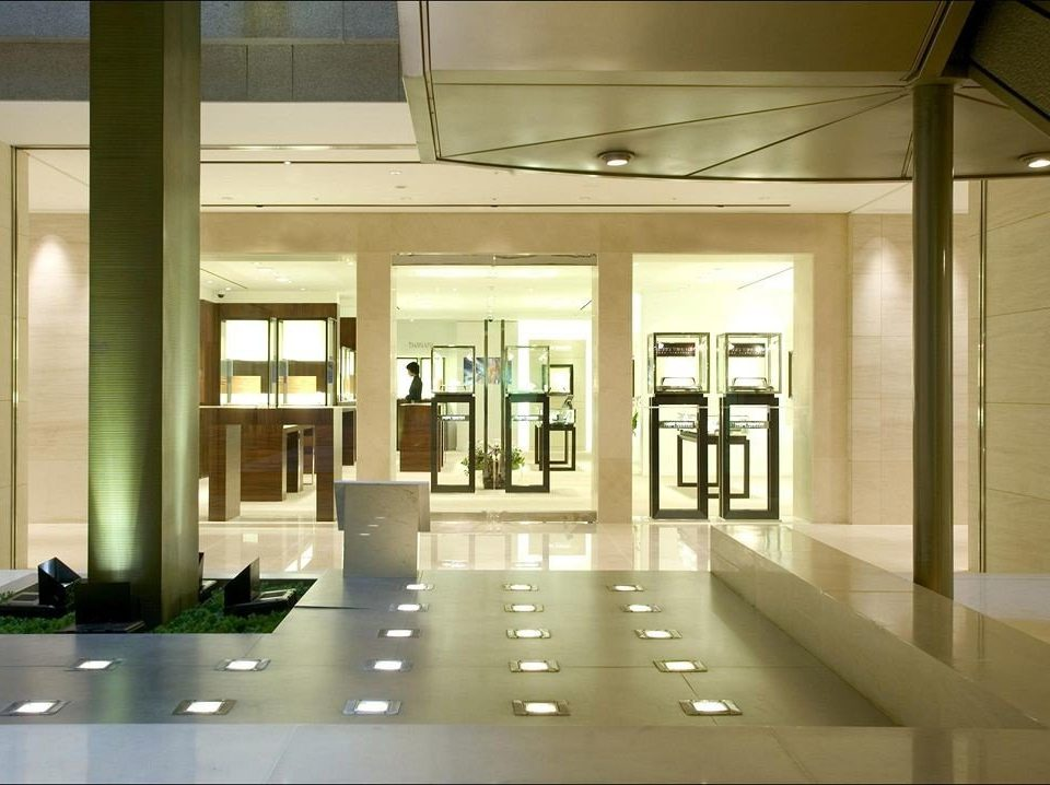 Lobby building Architecture daylighting condominium lighting headquarters home glass office