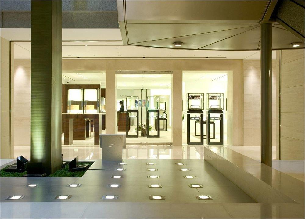 Lobby building Architecture daylighting condominium lighting headquarters home glass office