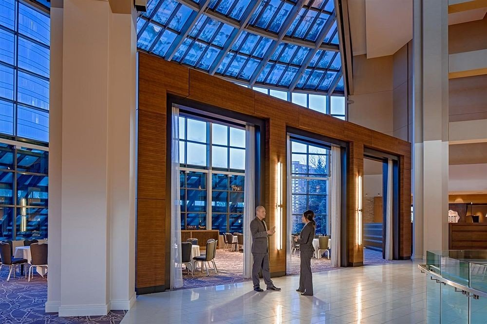 building property Architecture Lobby home daylighting headquarters condominium library professional tourist attraction