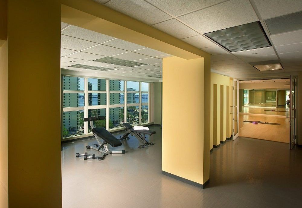 property building Architecture office daylighting home lighting headquarters professional condominium Lobby living room