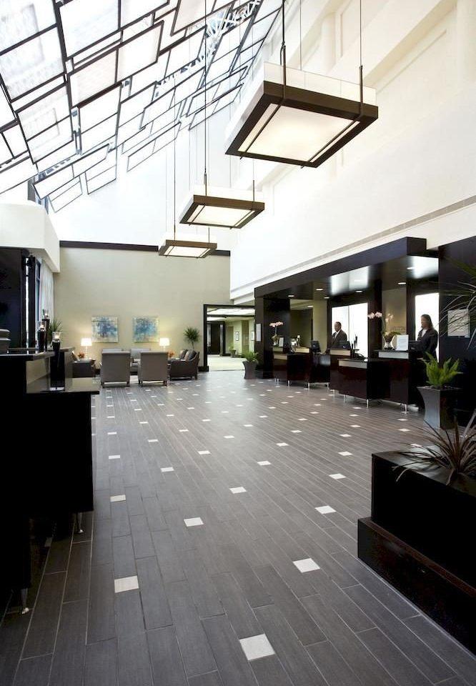 property building Lobby Architecture flooring lighting headquarters condominium hall
