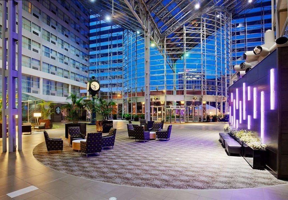 plaza building Lobby Architecture shopping mall condominium convention center headquarters