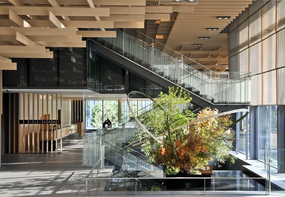 building Architecture daylighting professional headquarters home Lobby
