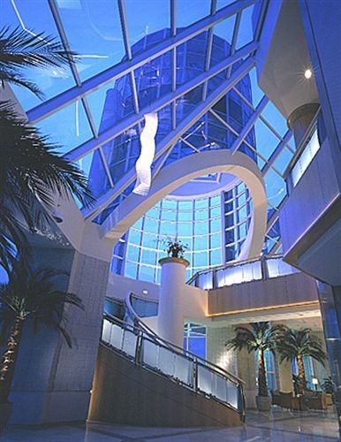 building Architecture daylighting lighting symmetry glass Lobby tourist attraction