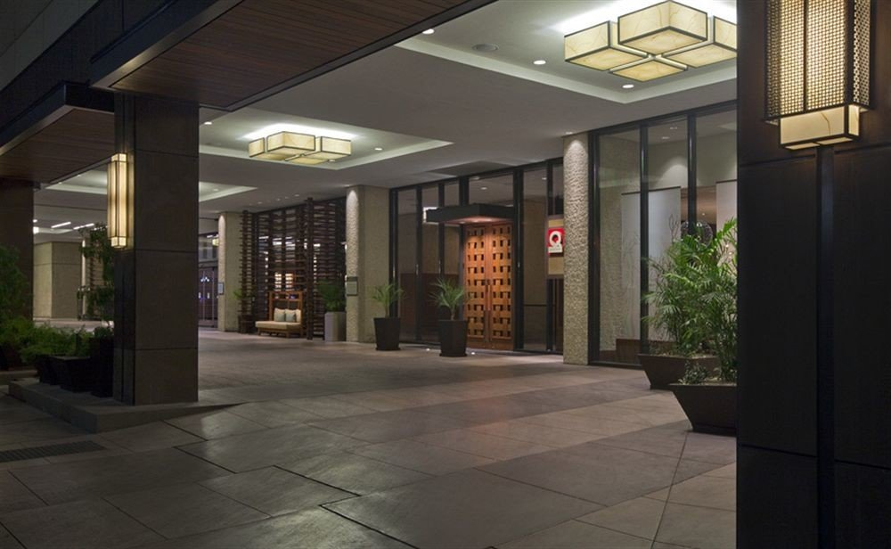 Lobby building Architecture lighting tourist attraction headquarters empty