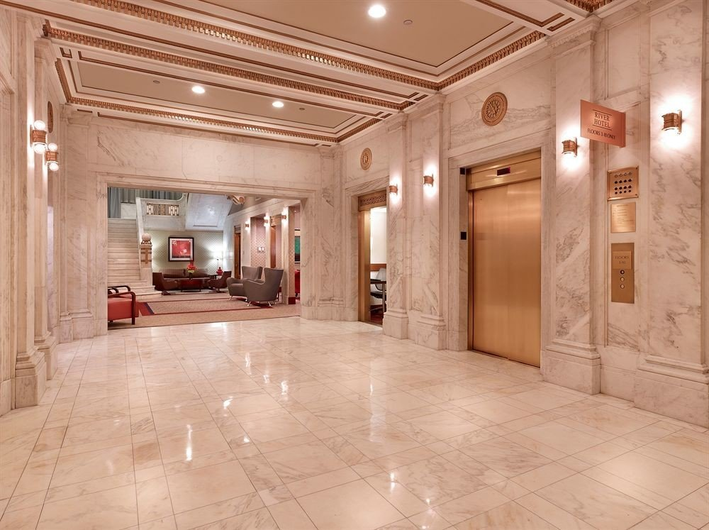 building property Lobby flooring Architecture home hall