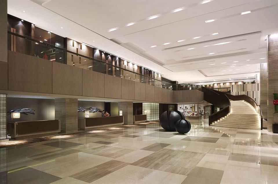 Lobby building Architecture headquarters shopping mall plaza metro station flooring tourist attraction