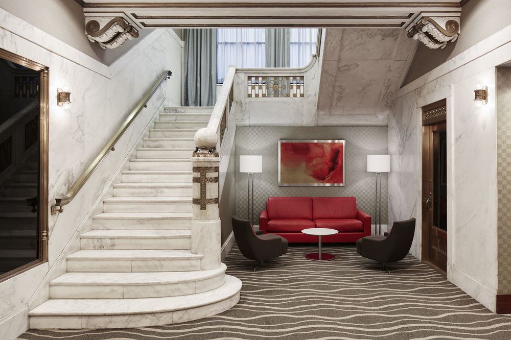 building Architecture house Lobby home living room mansion stairs hall step