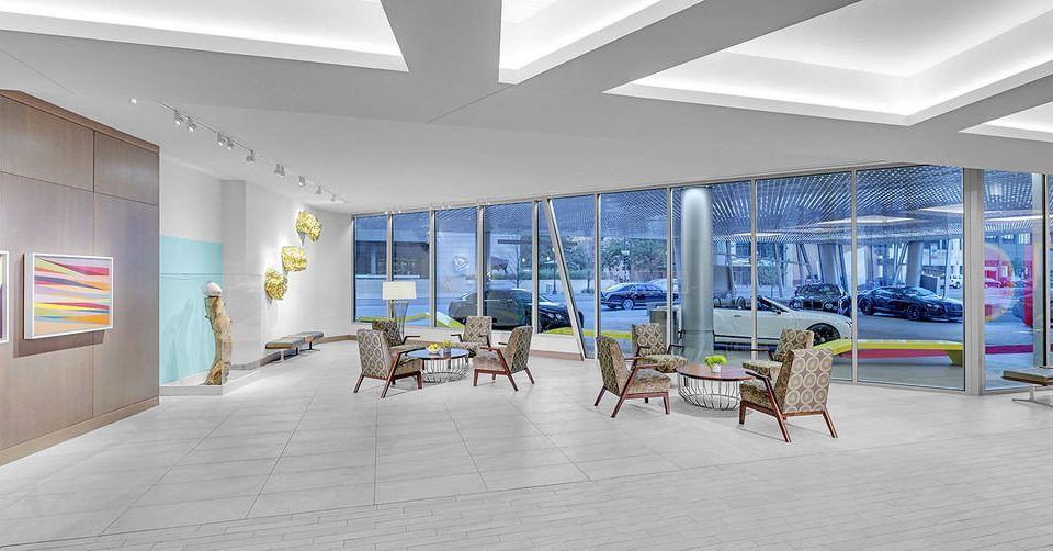 building Architecture Lobby headquarters professional