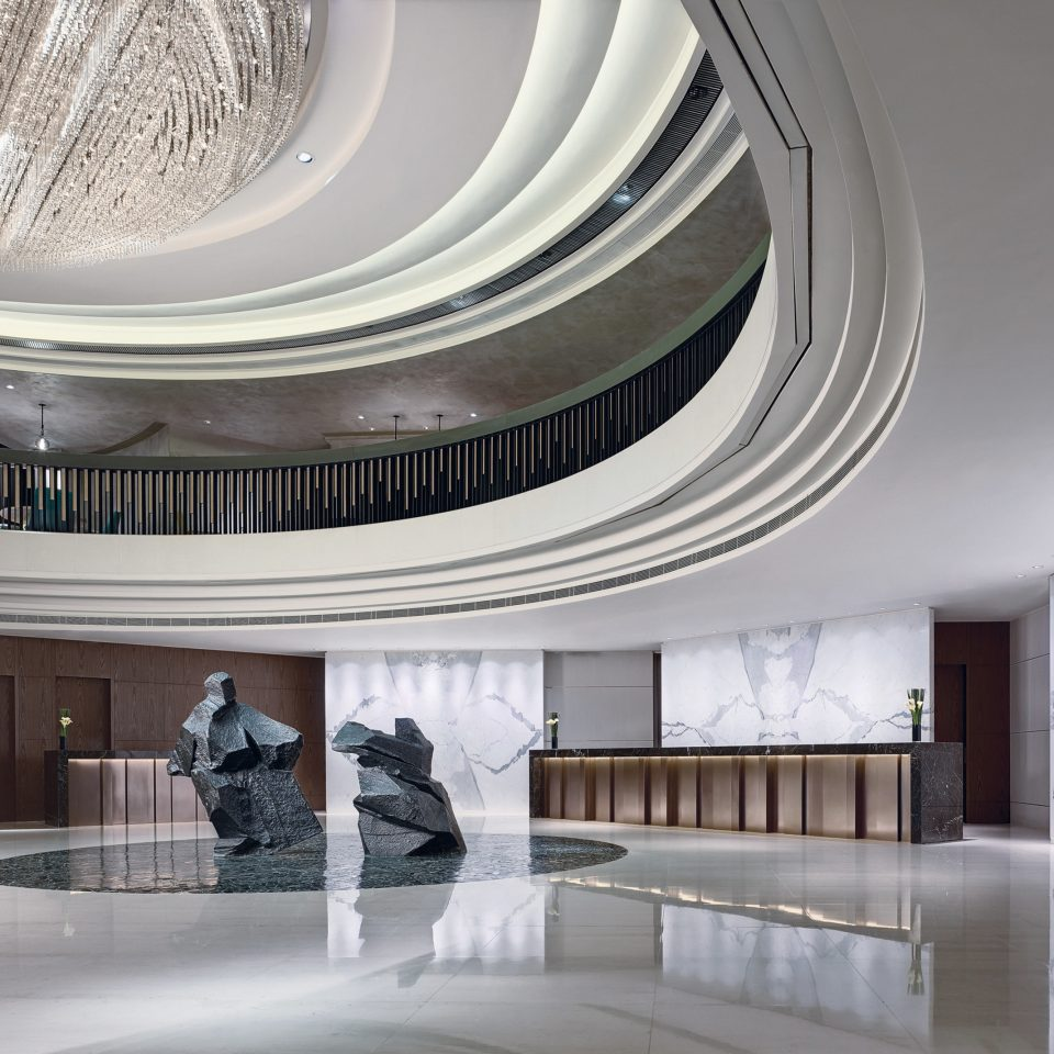Architecture daylighting lighting headquarters tourist attraction Lobby professional colonnade