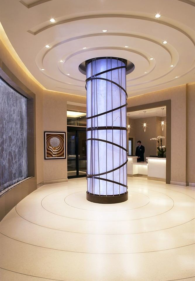 Lobby structure Architecture daylighting lighting hall flooring column