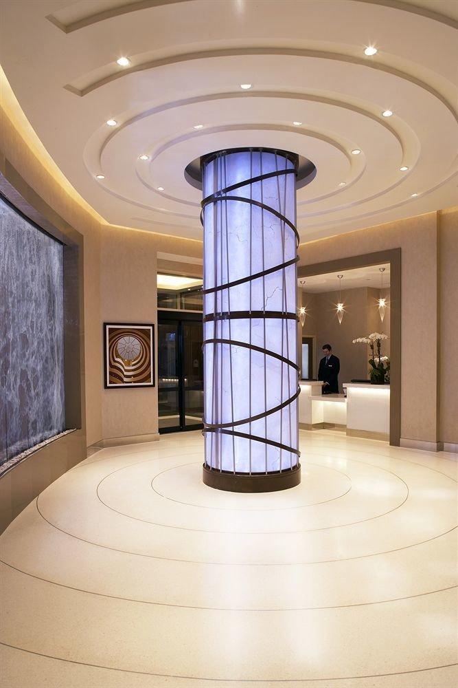 Lobby structure Architecture daylighting lighting hall flooring column