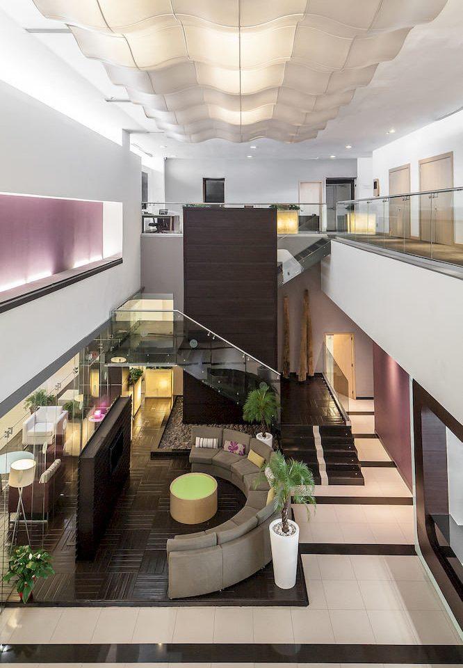 Lobby property Architecture counter condominium professional headquarters living room