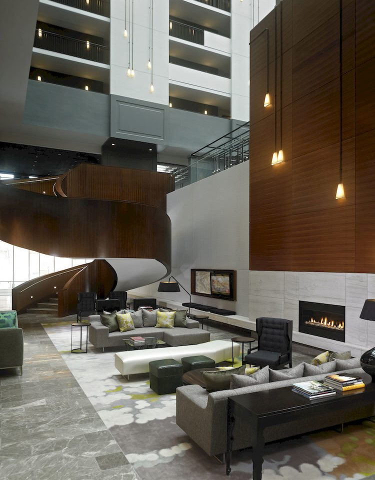 property living room Lobby Architecture condominium home lighting loft flooring