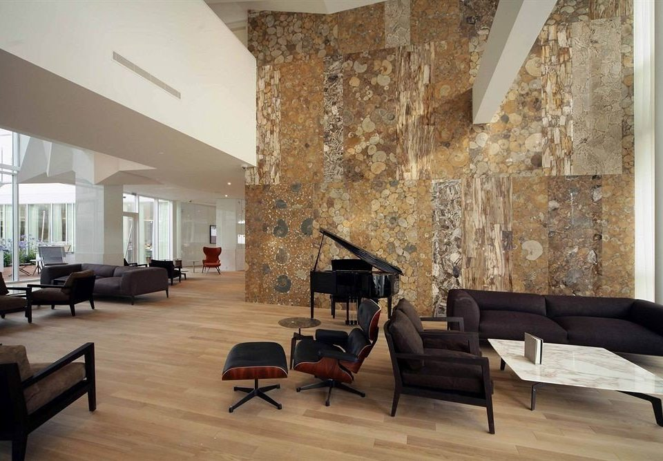 living room Architecture wood flooring flooring Lobby loft laminate flooring hardwood house interior designer daylighting penthouse apartment