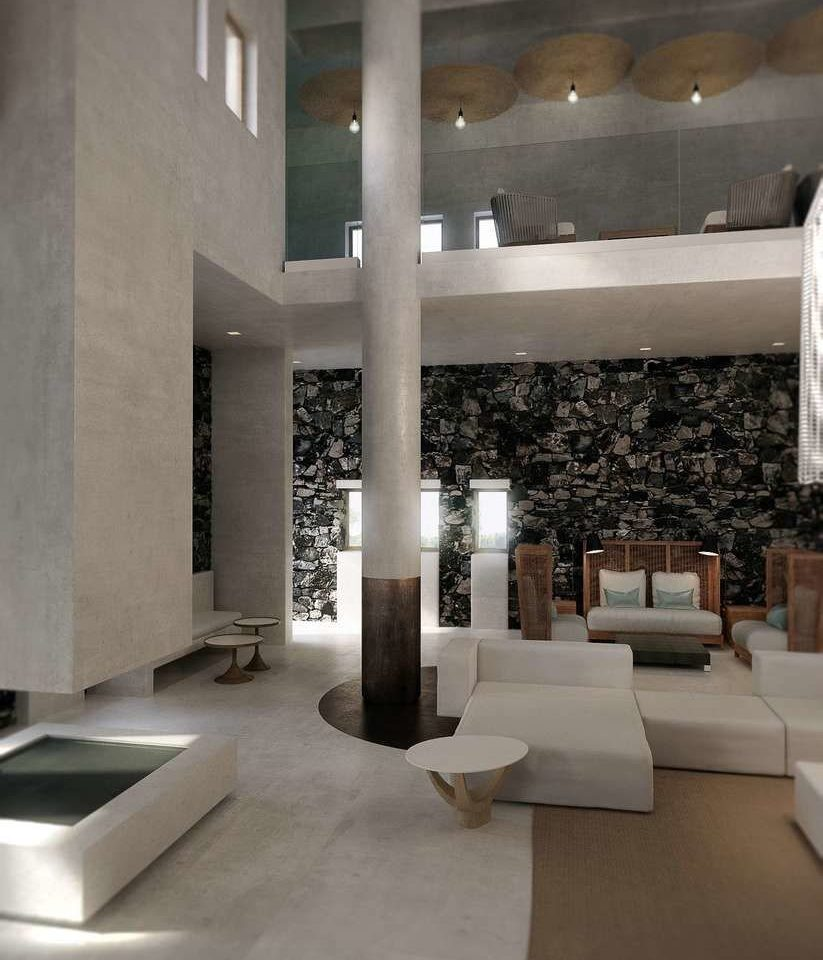 Architecture Lobby lighting daylighting flooring living room tourist attraction