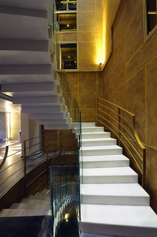 stairs step Architecture light house daylighting lighting Lobby hall stair