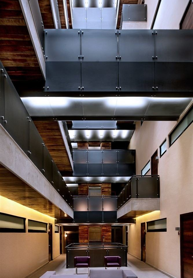 Architecture daylighting lighting professional home headquarters stairs Lobby hall