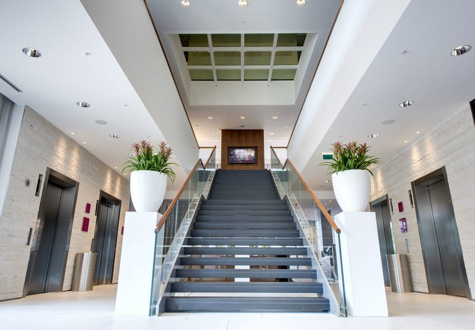 property Architecture Lobby daylighting hall headquarters professional open