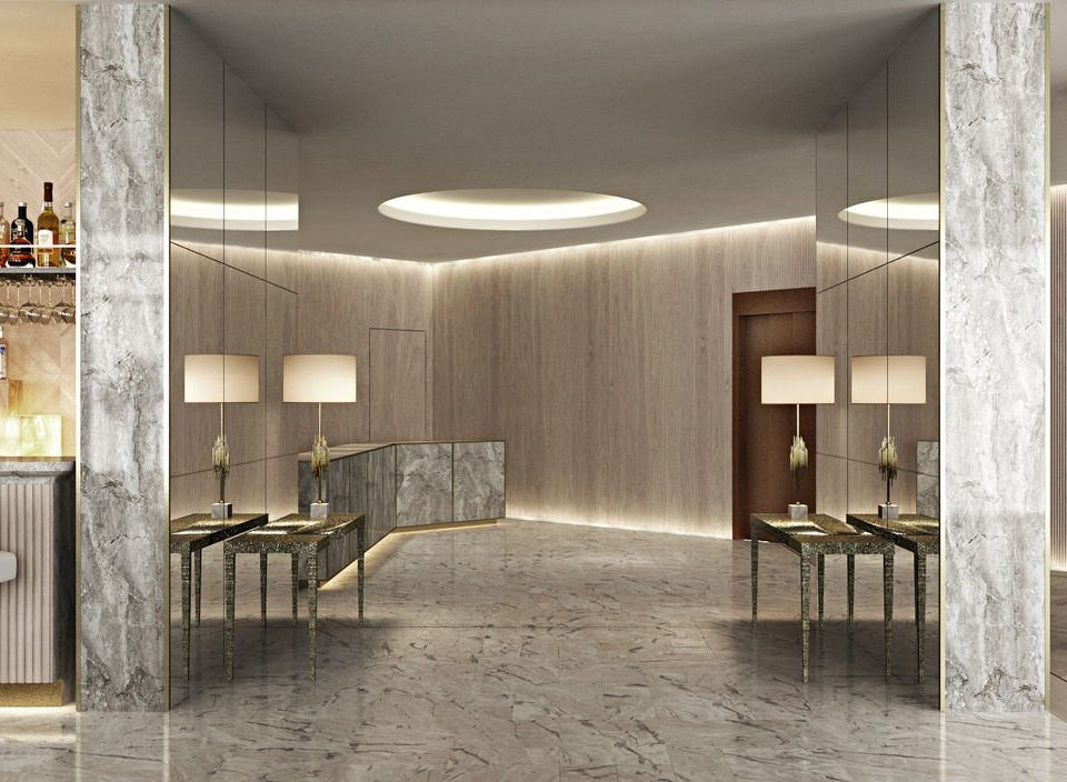 Lobby property Architecture flooring lighting home professional living room hall loft