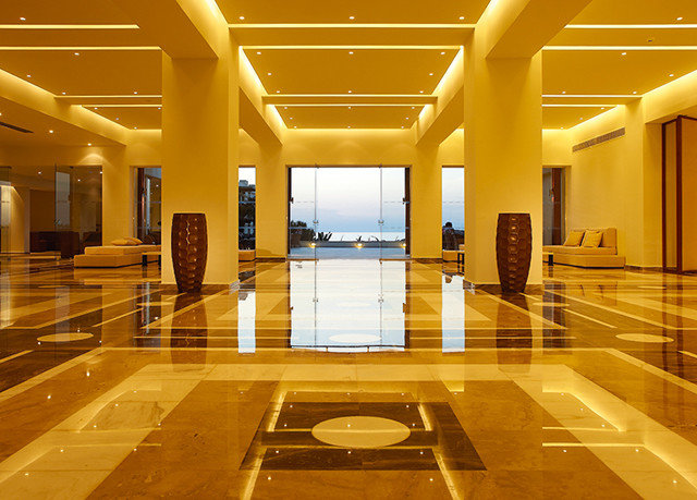 Lobby Architecture lighting headquarters hall flooring long